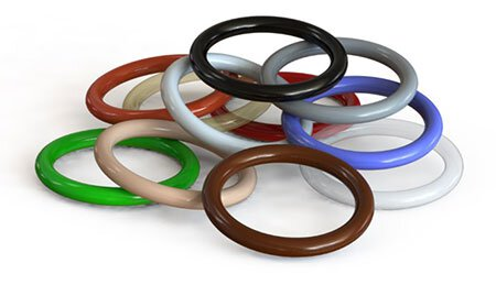 O-Ring Pile Colors